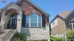 Raised Panel Shutters with Bead - San Antonio,Tx